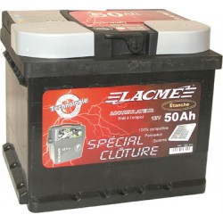 Battery 12v - special 50ah fence