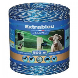 Electric fencing rope - 500m