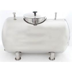 Mobile milk tank 400l