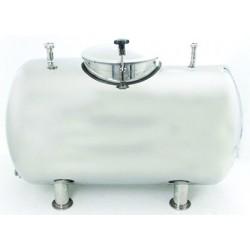 Mobile milk tank 500l
