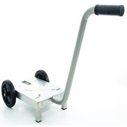 Trolley for pump