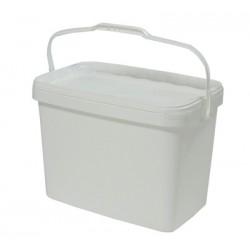 Rectangular bucket with handle 16l