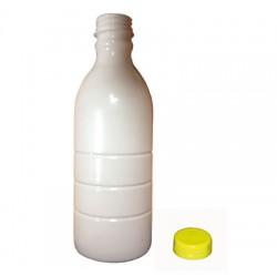 Milk bottle + top 1l
