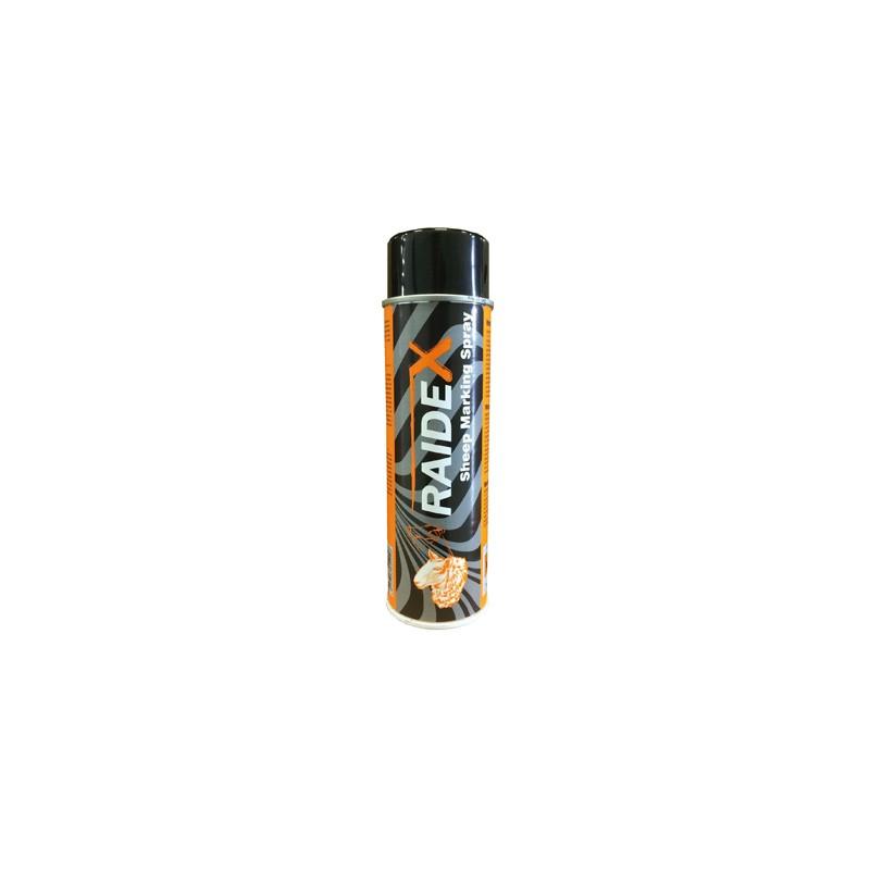 Orange aerosol spray raidex - Alliance-Elevage-Export.com