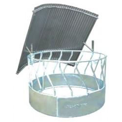 Circular rack roof