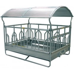 Big-bale rack feston