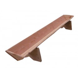 Wooden feeding trough 2.50m