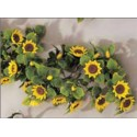 Sunflower garland or holly garland