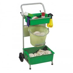 Milking serving trolley