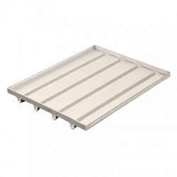 Stainless steel drip tray