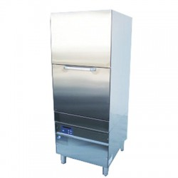 Frontal washing cabinet