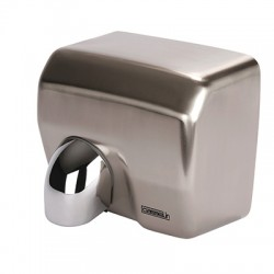 Stainless steel nozzle hand dryer