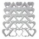 Heart-shaped mould block