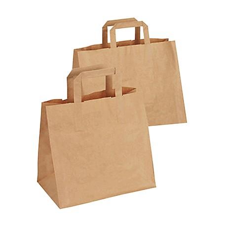 Flat handles paper bag / 250
