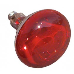 Heat lamp red