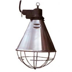 Heat lamp protector