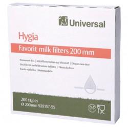 Milk filters 200mm