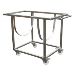 Stainless steel support for vats