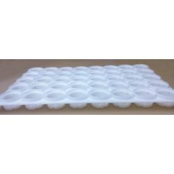 Multimolde para 40 quesos (5x8) de Ø 59 mm de diámetro