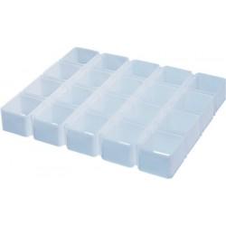 Multimolde para 20 quesos (4x5) de forma cuadrada 95 mm