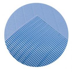Malla de escurrimiento 630 x 510 azul