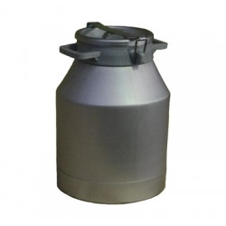 Aluminium milk can 20l