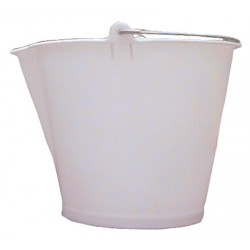 Plastic pouring spout bucket 13l