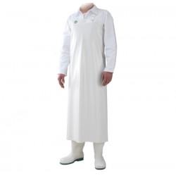 White colour apron