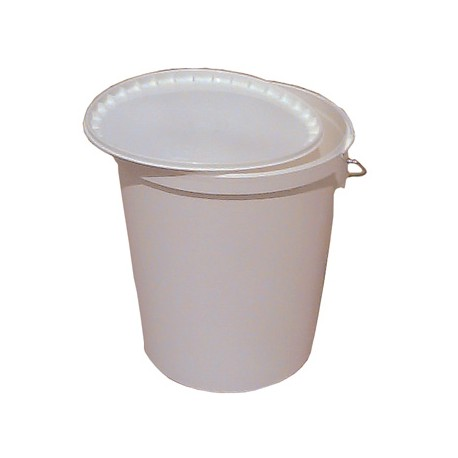 Plastic bucket with handle 21l