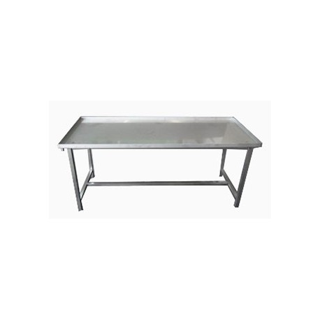 Stainless steel draining table 195x80x85