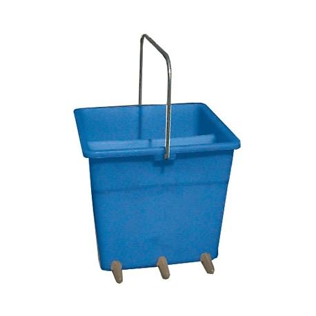 Double feeding bucket