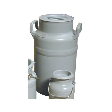 Bidón de leche plástico 40l