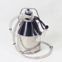 Milker bucket tank complete ewe - 2 clusters