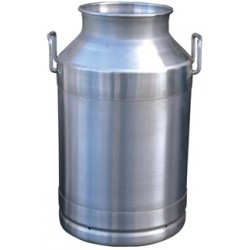 Stainless steel milk can - 40l