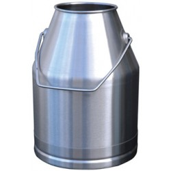 Stainless steel milking bucket - 30l