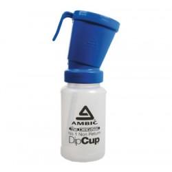 Foaming dip cup