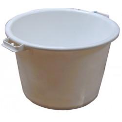 Round vat 55l white