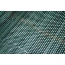Straw roll 33 cm green