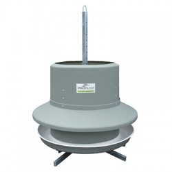Awning round feeder 450 l