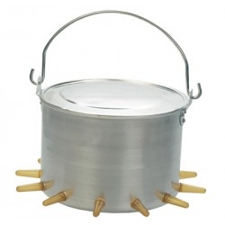Biberón aluminio 12 tetinas